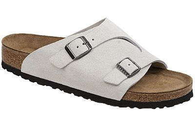 57d2c715c4f99 Birkenstock Zurich Soft Footbed White Sand Suede  130 This soft footbed  version of a Birkenstock classic is great for people with sensitive feet!