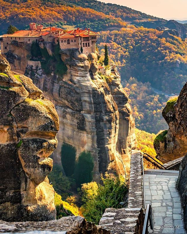 Meteora #naturallandmarks