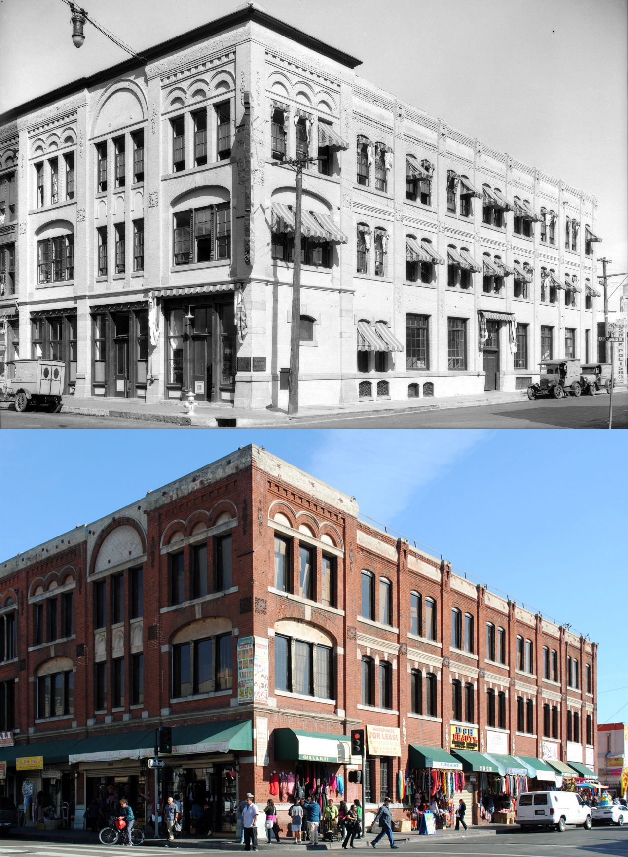 Excelsior Laundry Building, northeast corner of Los Angeles and Winston Streets…