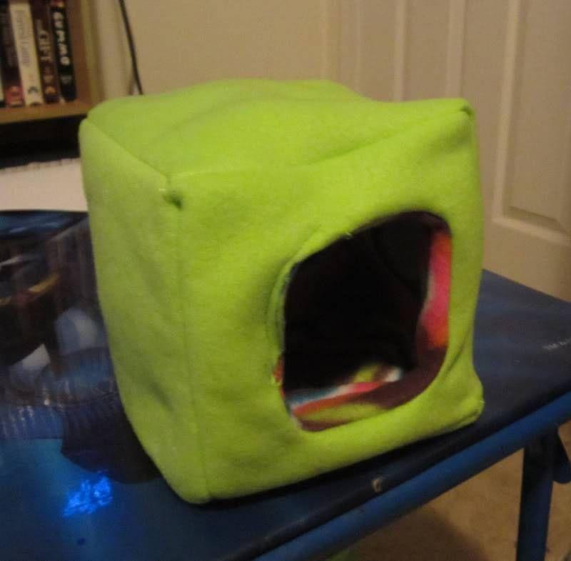 Glidergossip how do you sew a cube sugar glider toys