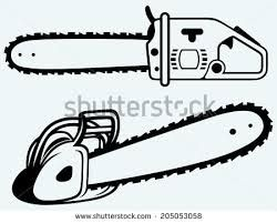 Chainsaw Illustration Google Search Chainsaw Illustration Blue Backgrounds