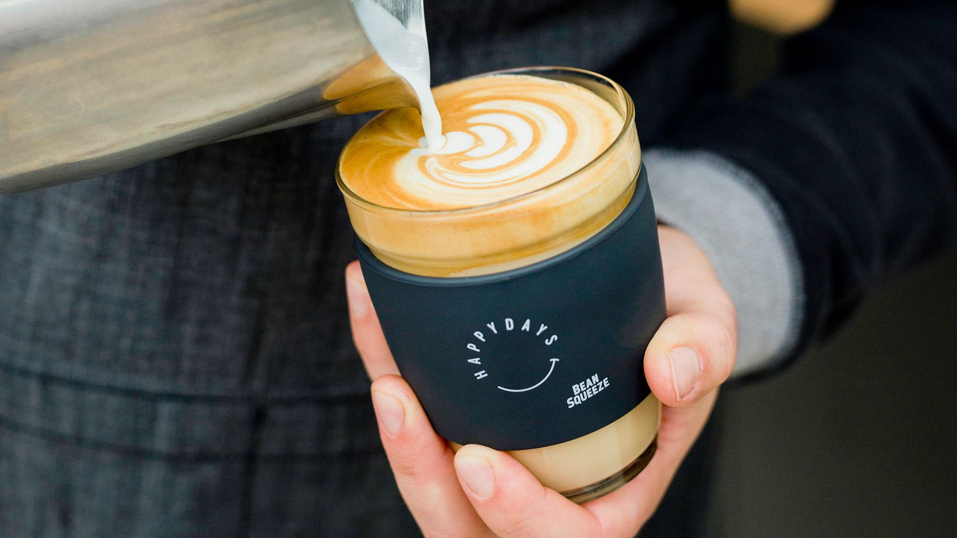 Everything We Do Is Guided By Our Philosophy Of Leave Happier Whether It S Your Morning Coffee Just The Way You Like It Coffee Food Items Morning Coffee