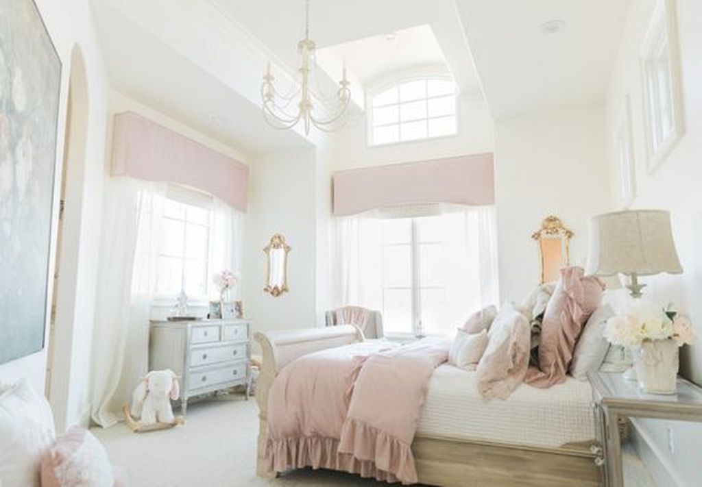20 French Bedroom Design And Decor Ideas Feminine That Are Full