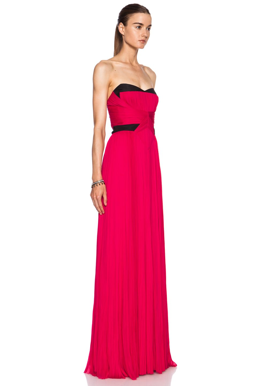 J. Mendel silk gown