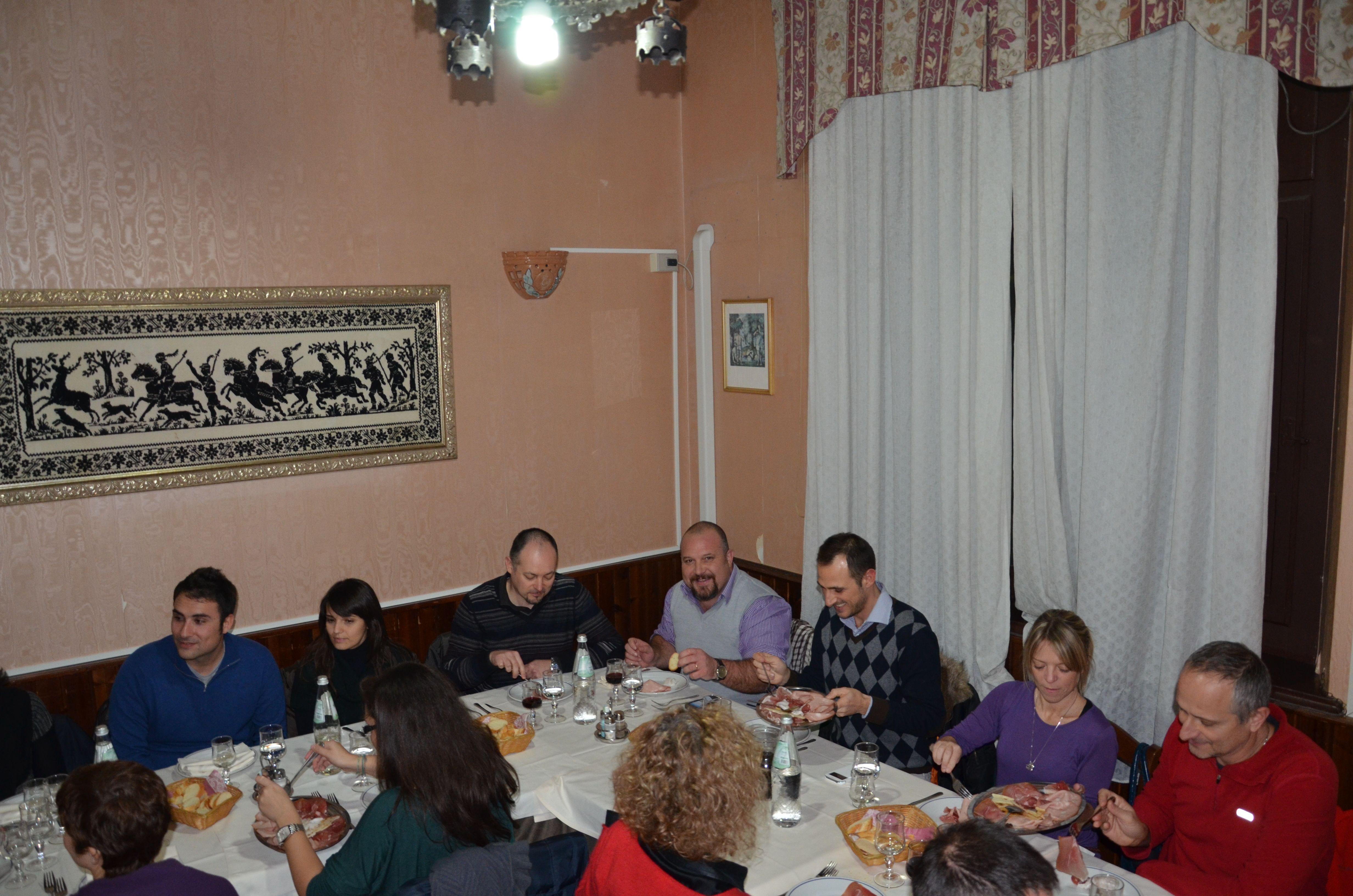 SocialCena di Natale al Gallo Bianco, Arborea...