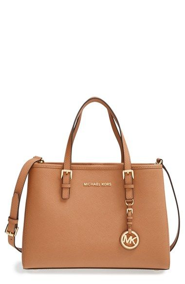 1c24fed51 MICHAEL Michael Kors 'Jet Set' East/West Saffiano Leather Tote available at  #Nordstrom