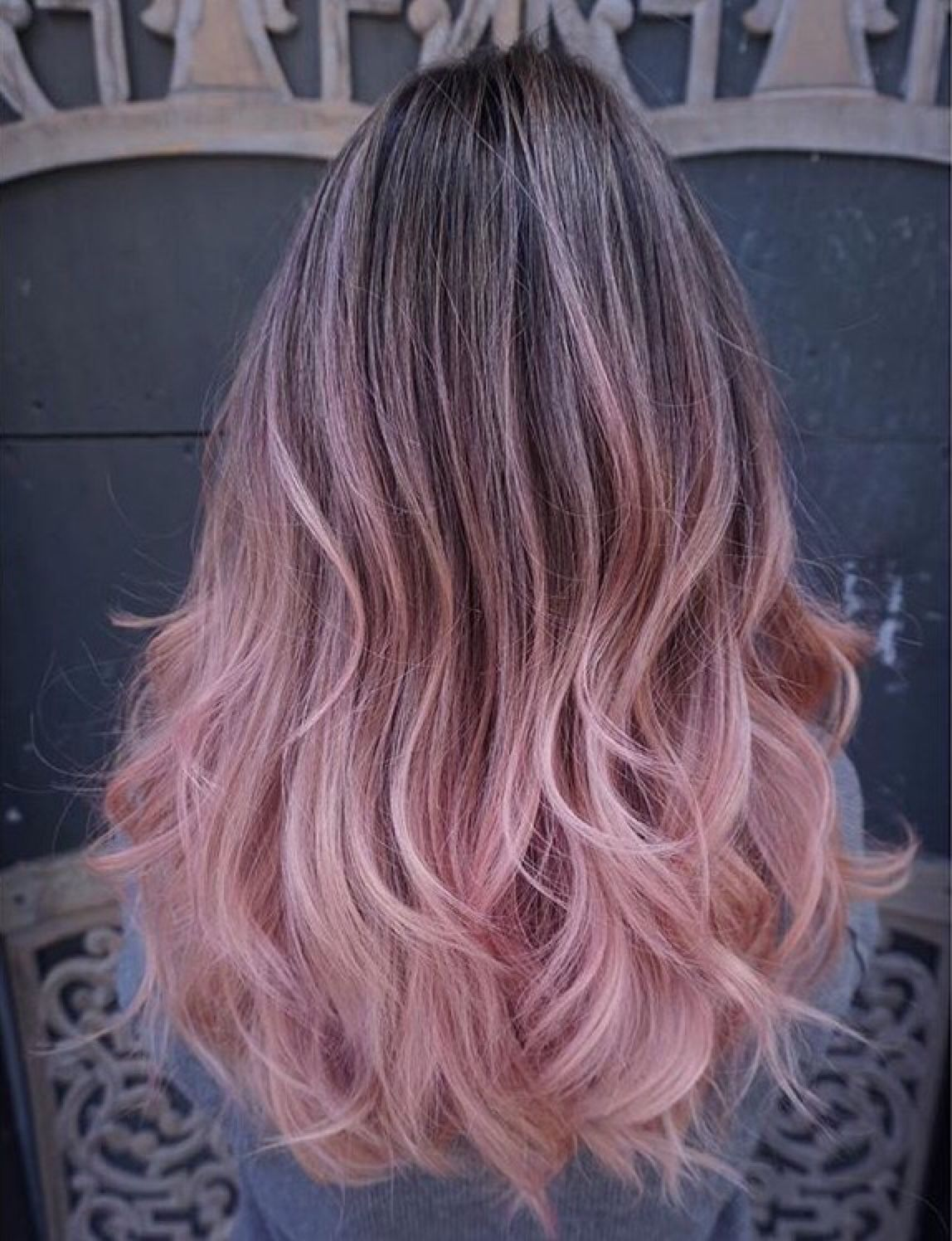 Pastel Ombre Hair Tumblr Tumblr Hair Pastel Hair Ombre Balayage