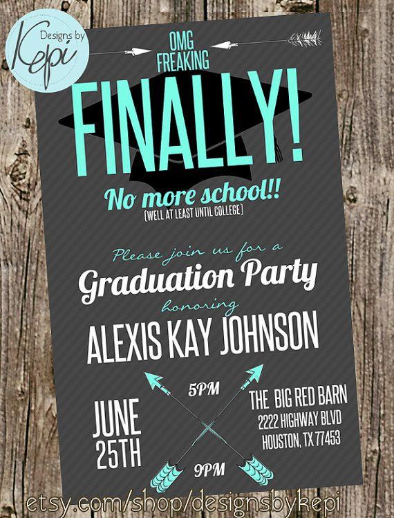 no picture graduation announcements