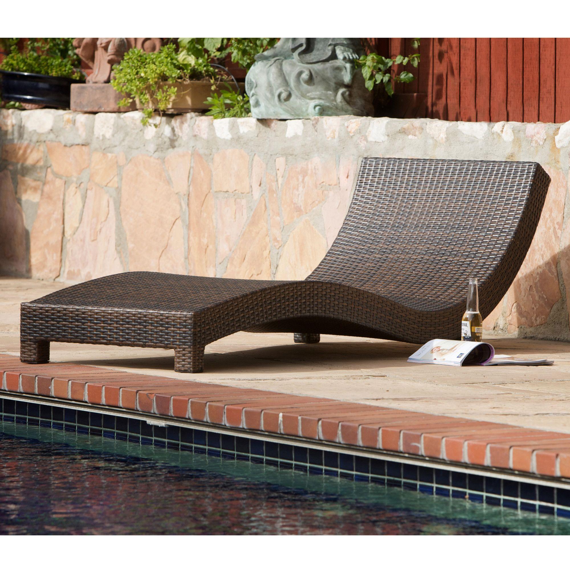 Home Loft Concept Vallarta Wicker Lounge Chair AllModern