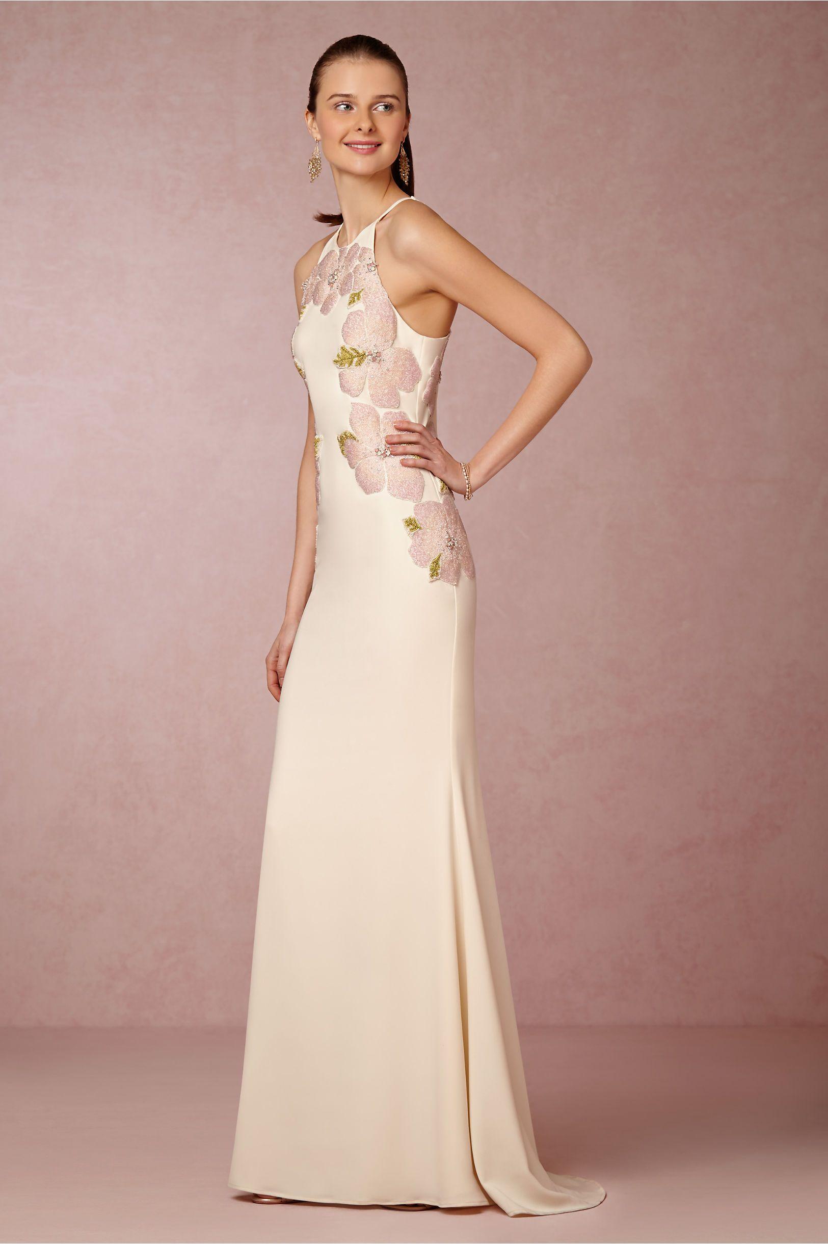 Calypso Gown by Badgley Mischka from BHLDN | <3 Fab Gowns 2015 <3 ...