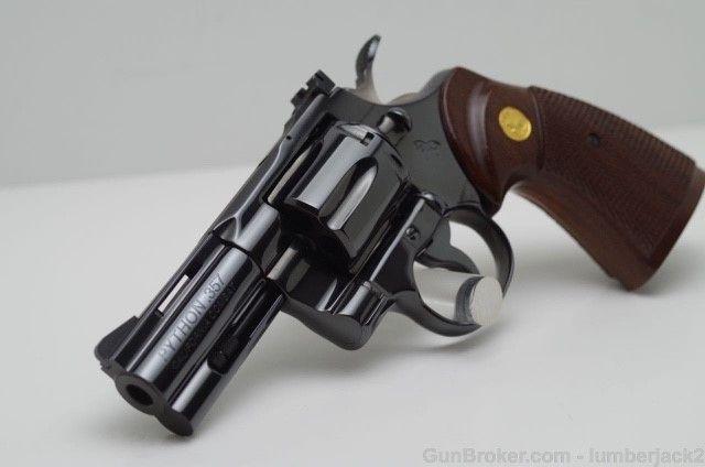 Combat Python colt california combat python w original box 99%+ - revolvers at