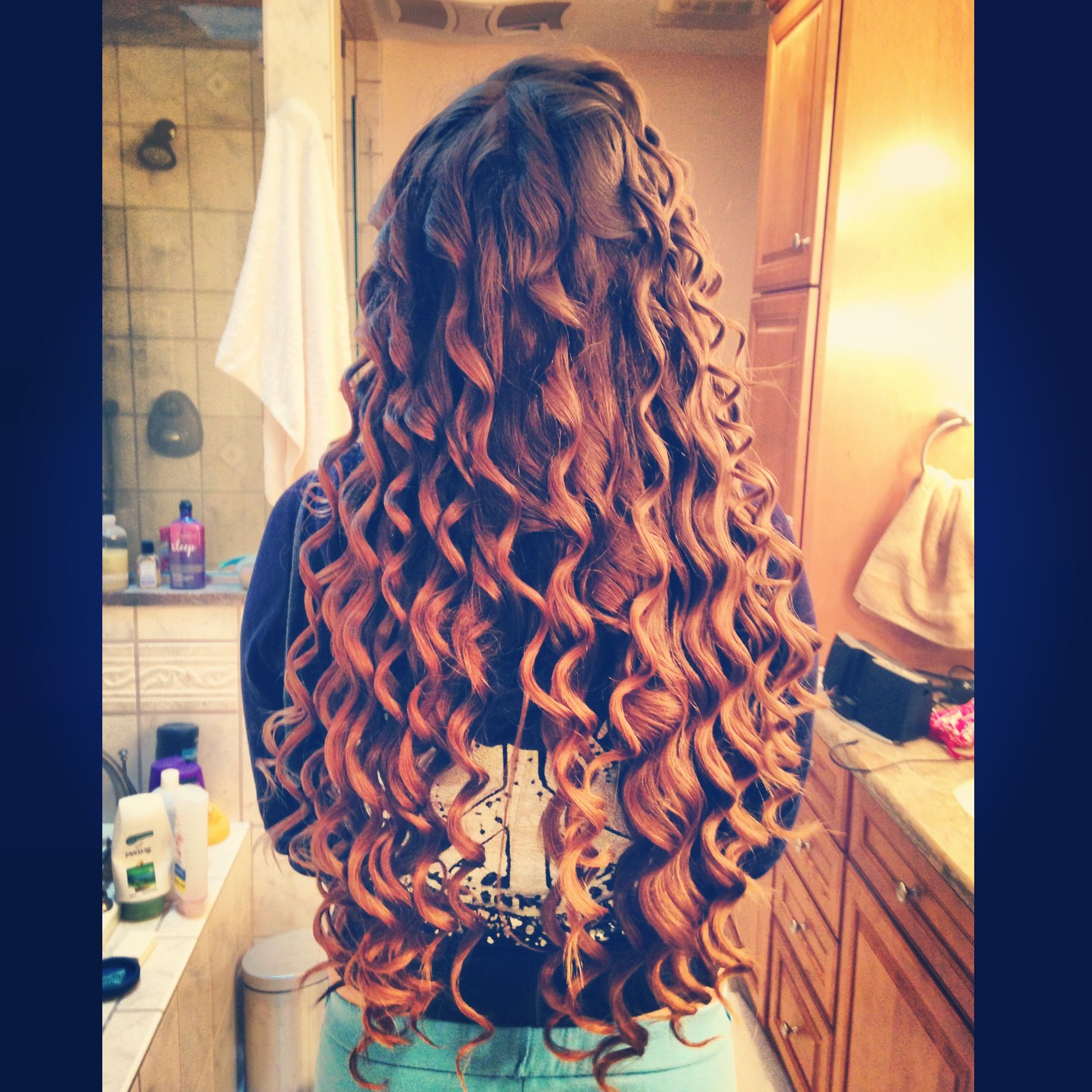Curls tumblr hair ombre kinda beautiful long hair hair