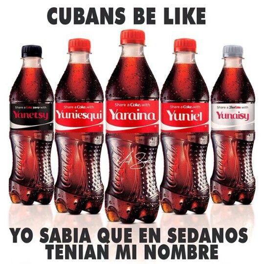 Cuban Coke Bottles Cola Share A Coke