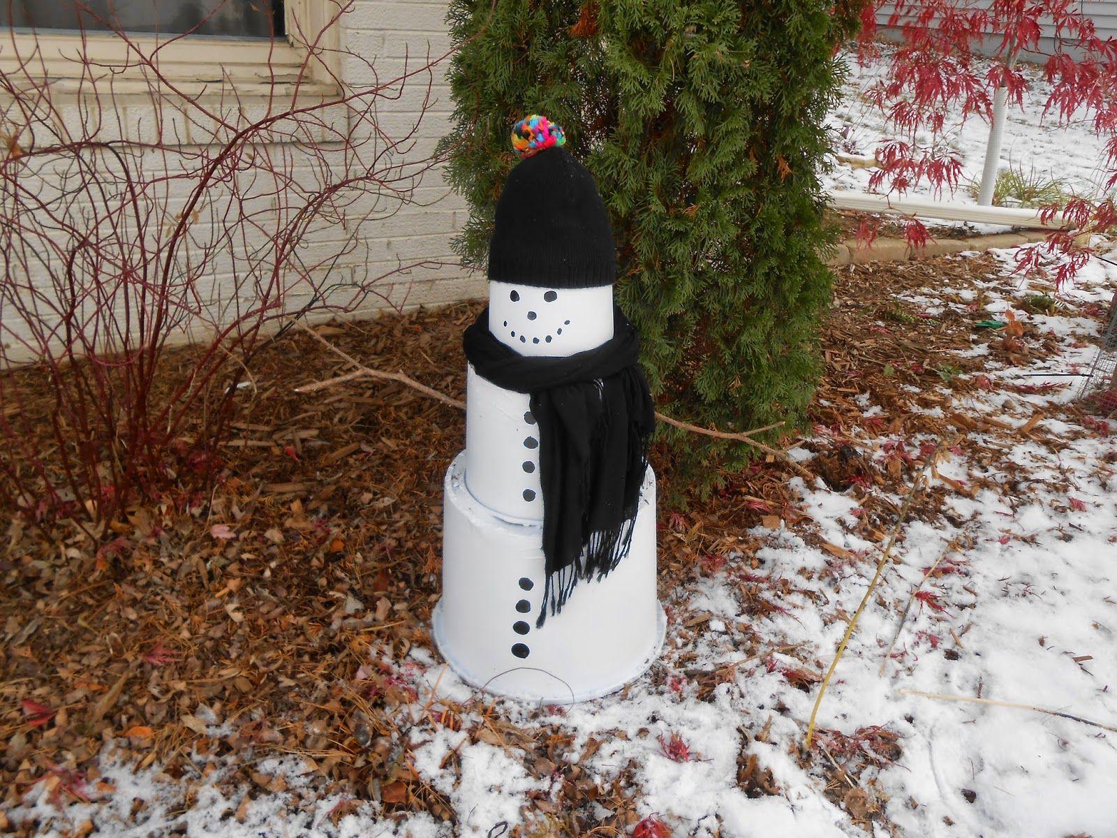 10+ Diy snowman outdoor decorations ideas in 2021