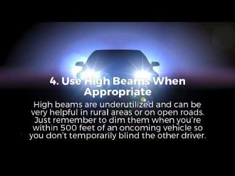 Extreme Auto Sales >> Extreme Cars Trucks Tips For Driving At Night Videos In
