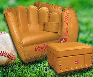 Take Your Love Of Americau0027s Favorite Pastime From The Field To Your Living  Room With The Baseball Glove Chair. Itu0027s Designed To Look Like An Enlarged  ...
