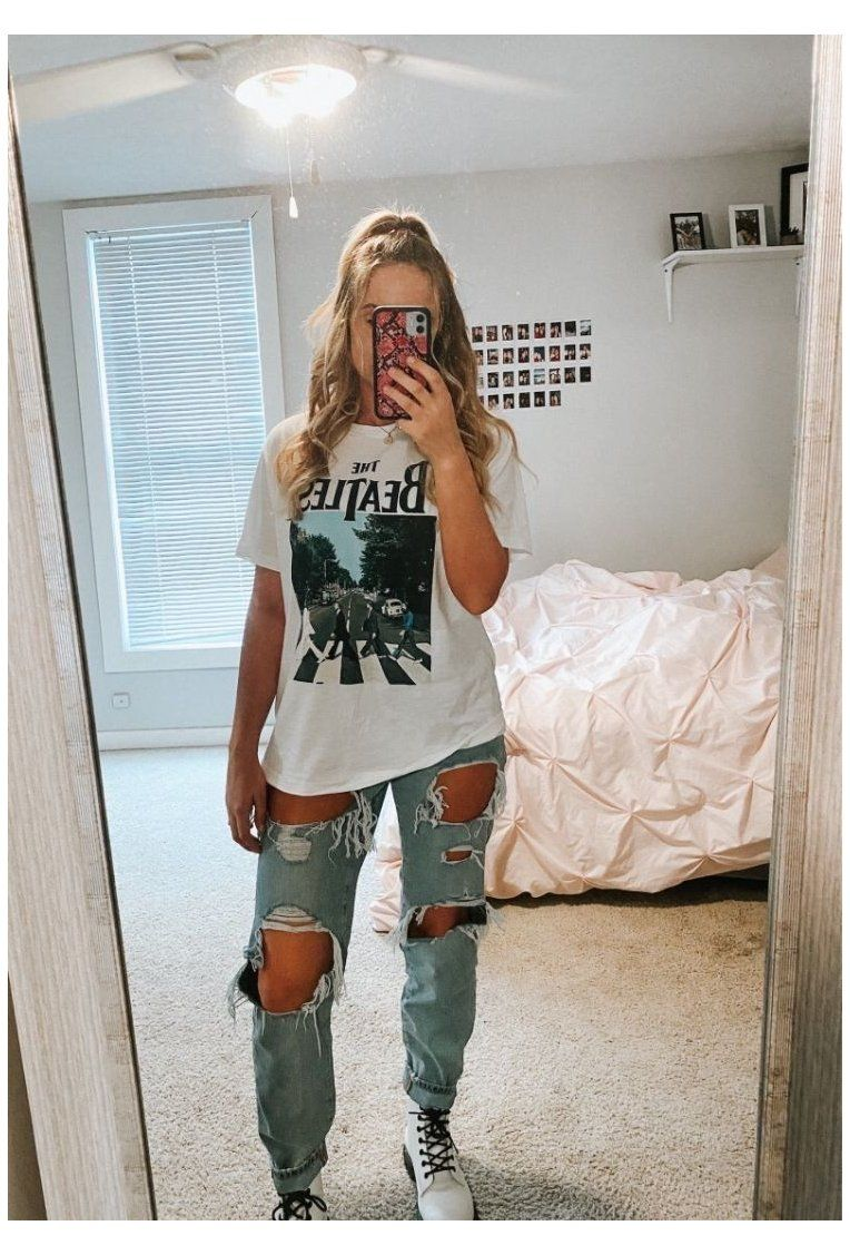 vintage outfits for teens casual