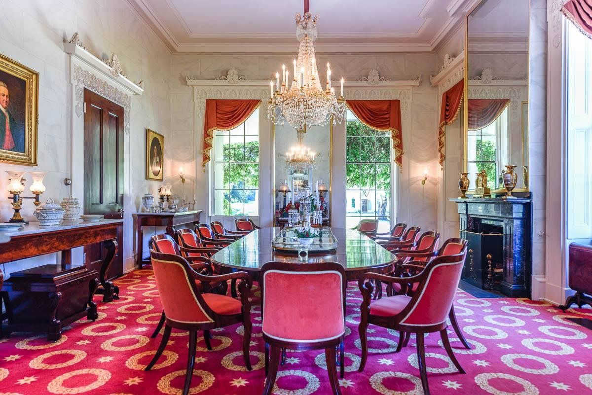 Pindoug Augustin On Greek Revival Interiors  Pinterest Cool Eldorado Dining Room Design Ideas