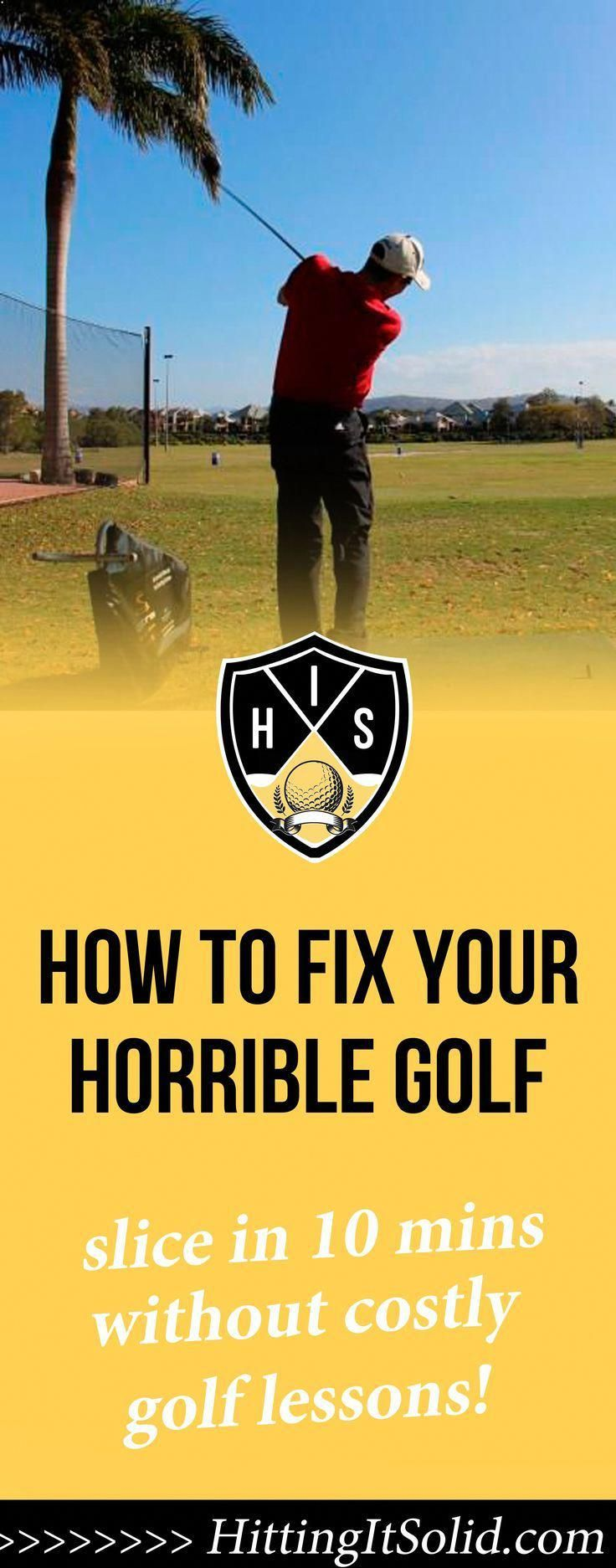 Learn how to fix your horrible golf slice in just 10