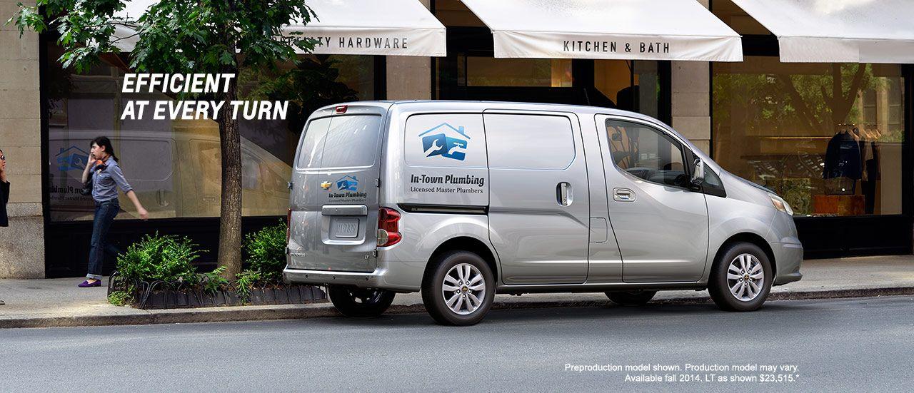 2015 City Express Small Van Cargo Van Chevrolet Van Cargo Van Chevrolet
