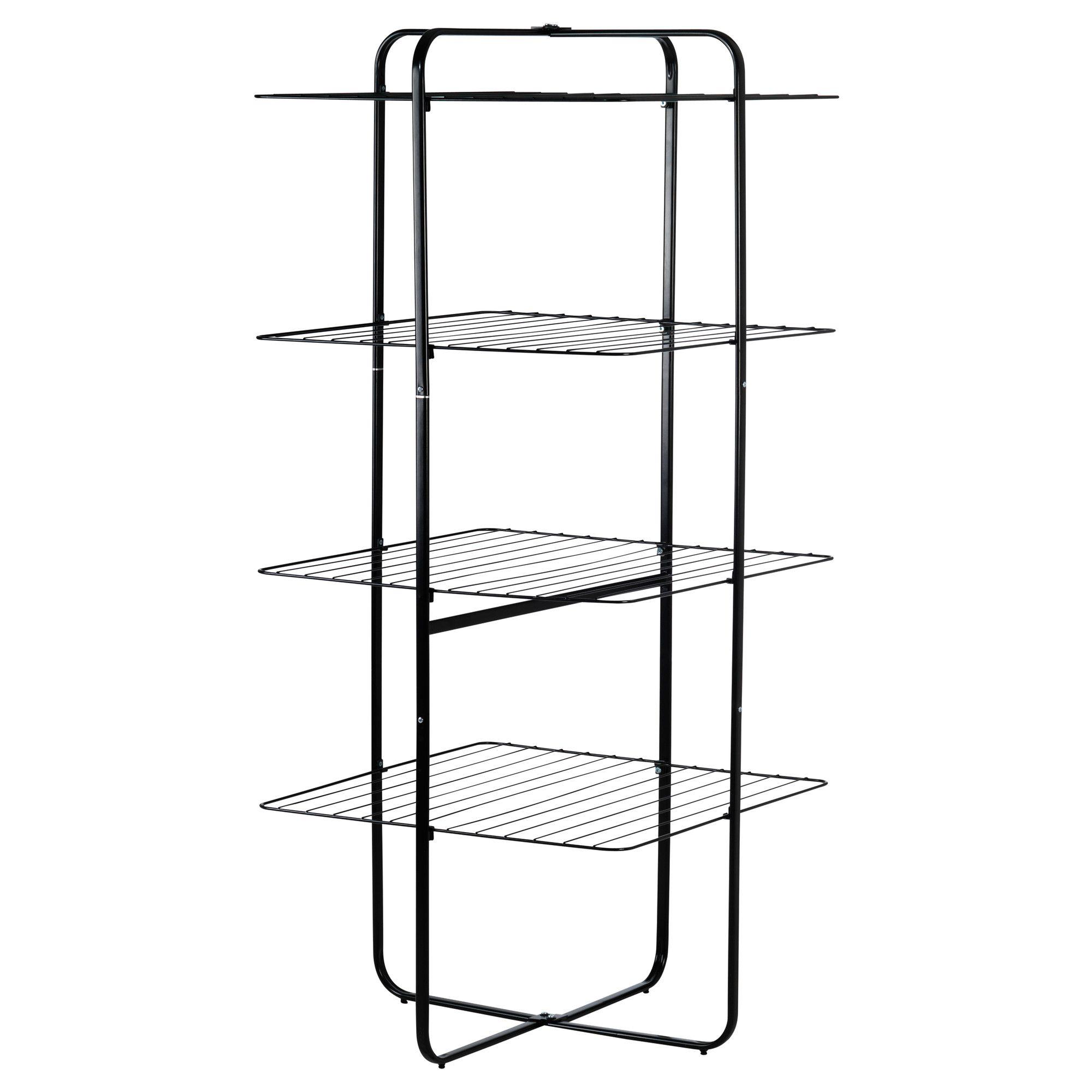 Ikea Wäscheständer 30 mulig drying rack 4 tiers black ikea laundry racks