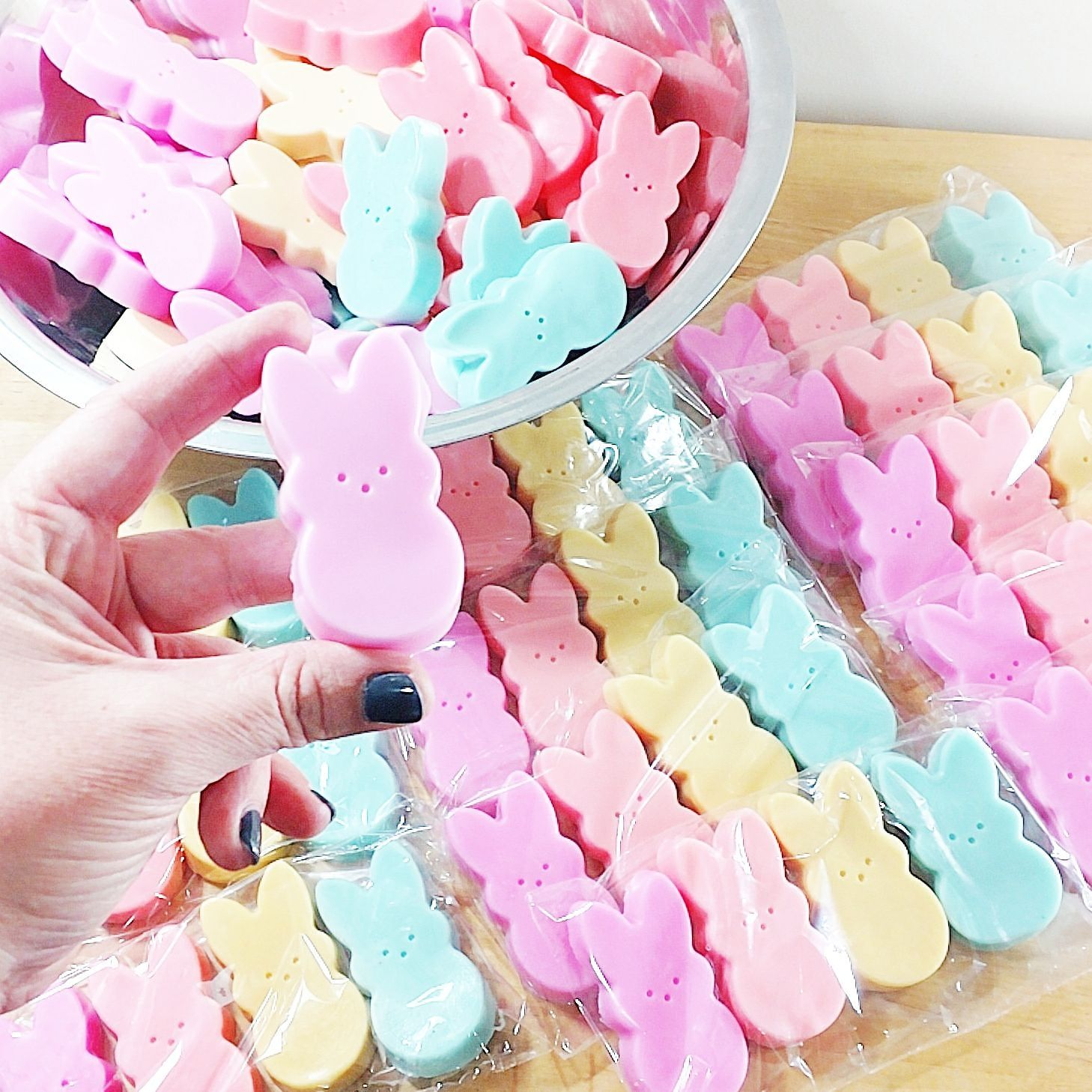 Easter gift gift for her funny gift gift for her best friend check out these adorable handmade soaps for your best friend peeps negle Images