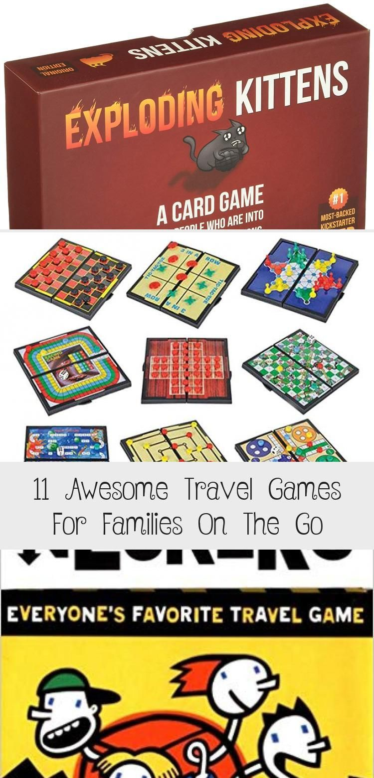 11 Awesome Travel Games For Families On The Go In 2020 Travel