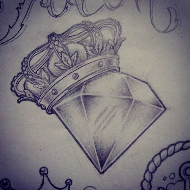 You're the king and i'm the diamond | cool tattoos ...