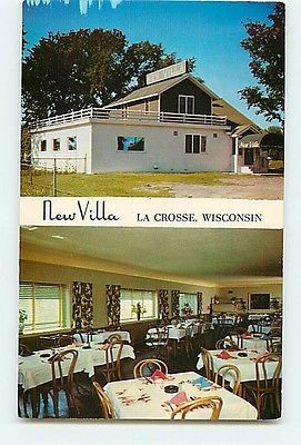 La Crosse Wisconsin New Villa Restaurant Interior Outside