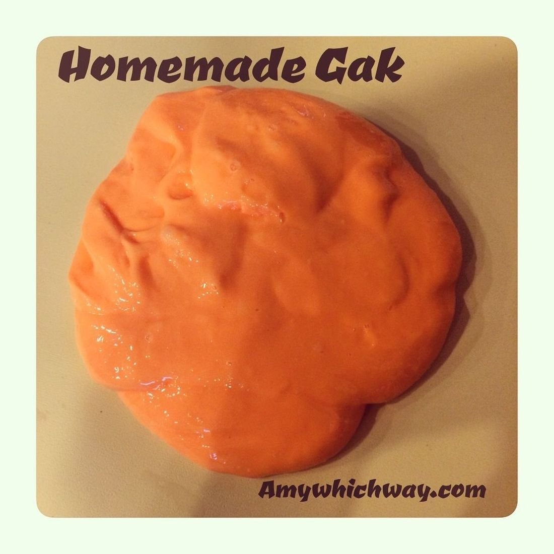 #Amy #Gak #homemade #which #winter break college home Homemade Gak — Amy Which Way Silly Putty meets Slime! A fun twist on playdough that kiddos of …