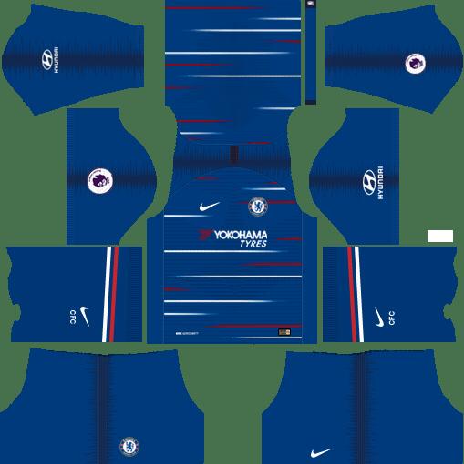 a1bb5d353 Nike Chelsea 2018-19 Dream League Soccer Kits 512x512 URL | Chelsea ...