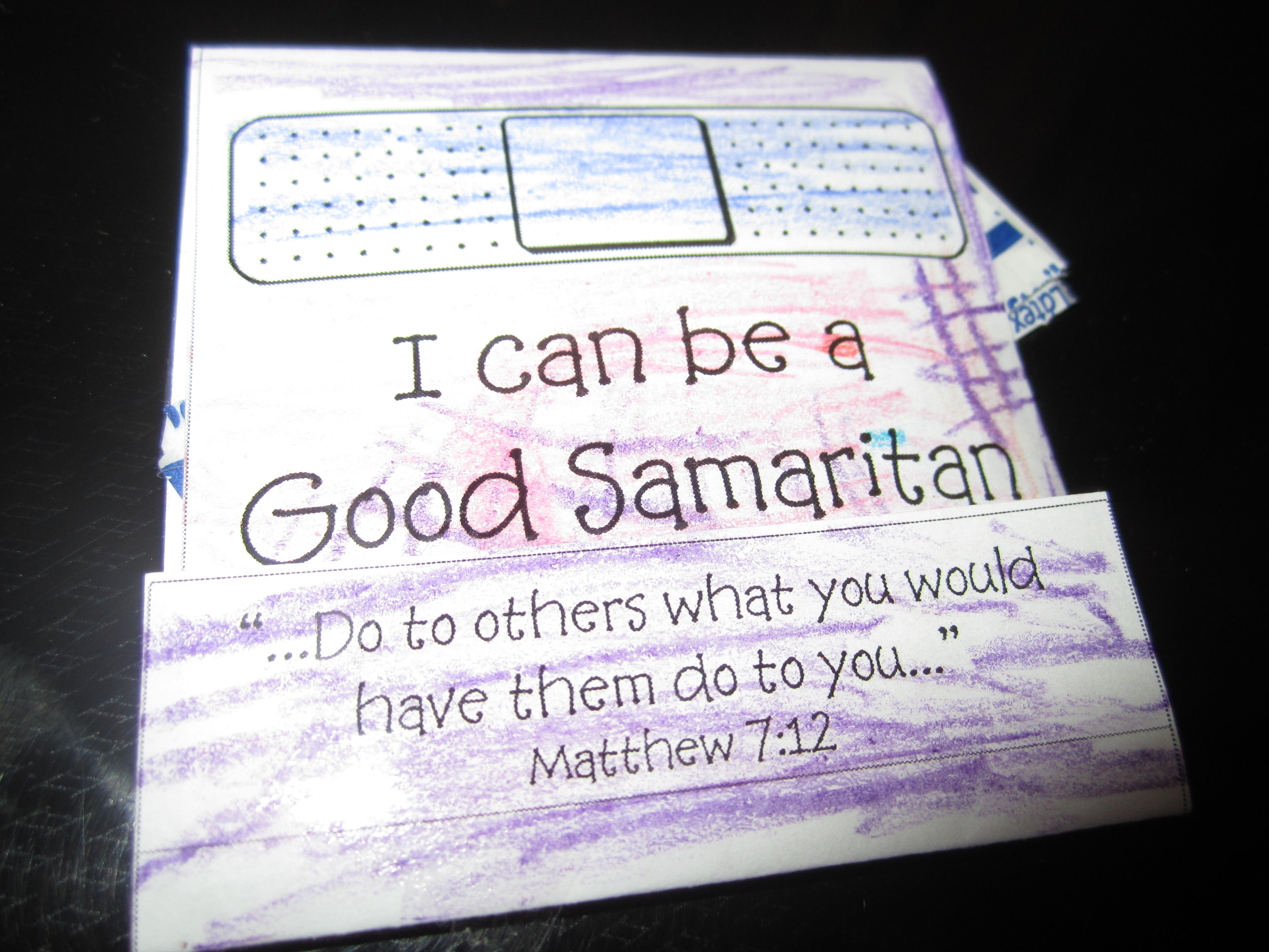 Good Samaritan Craft 1