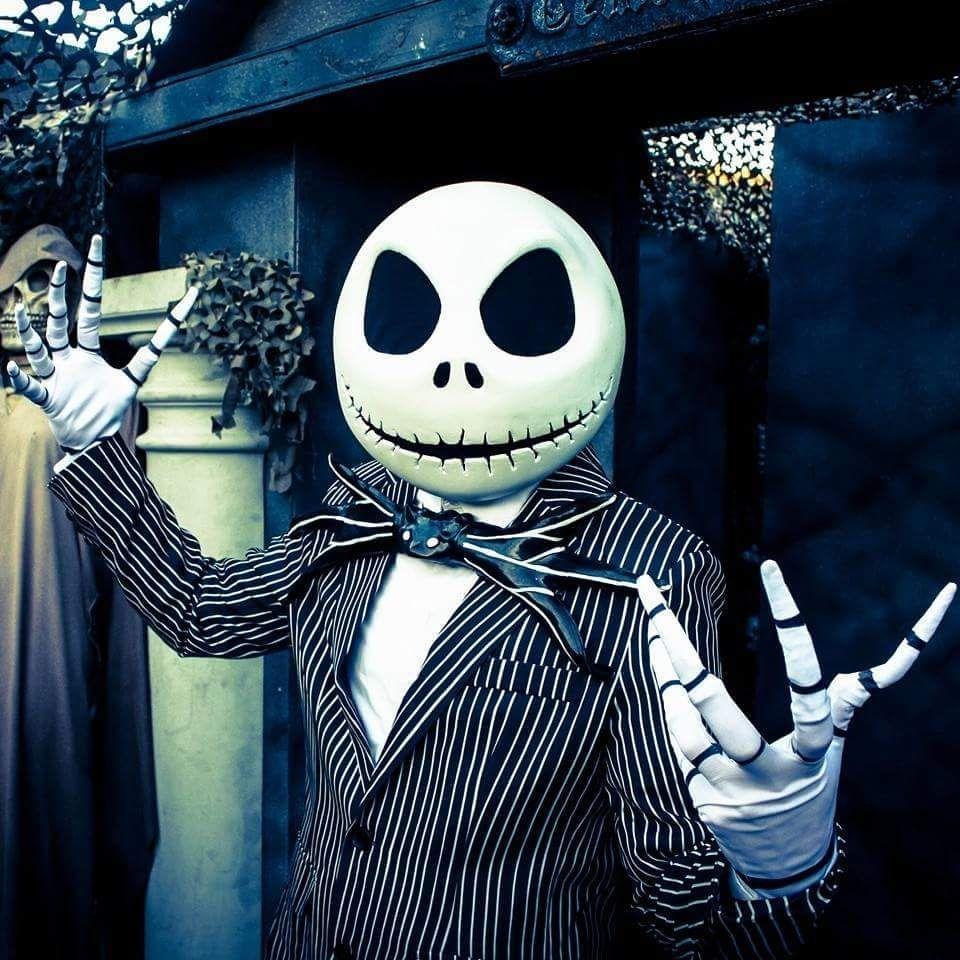 Jack Skellington Halloween Head by bermantdesigns