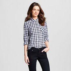 Women's Gingham Favorite Shirt - Merona™