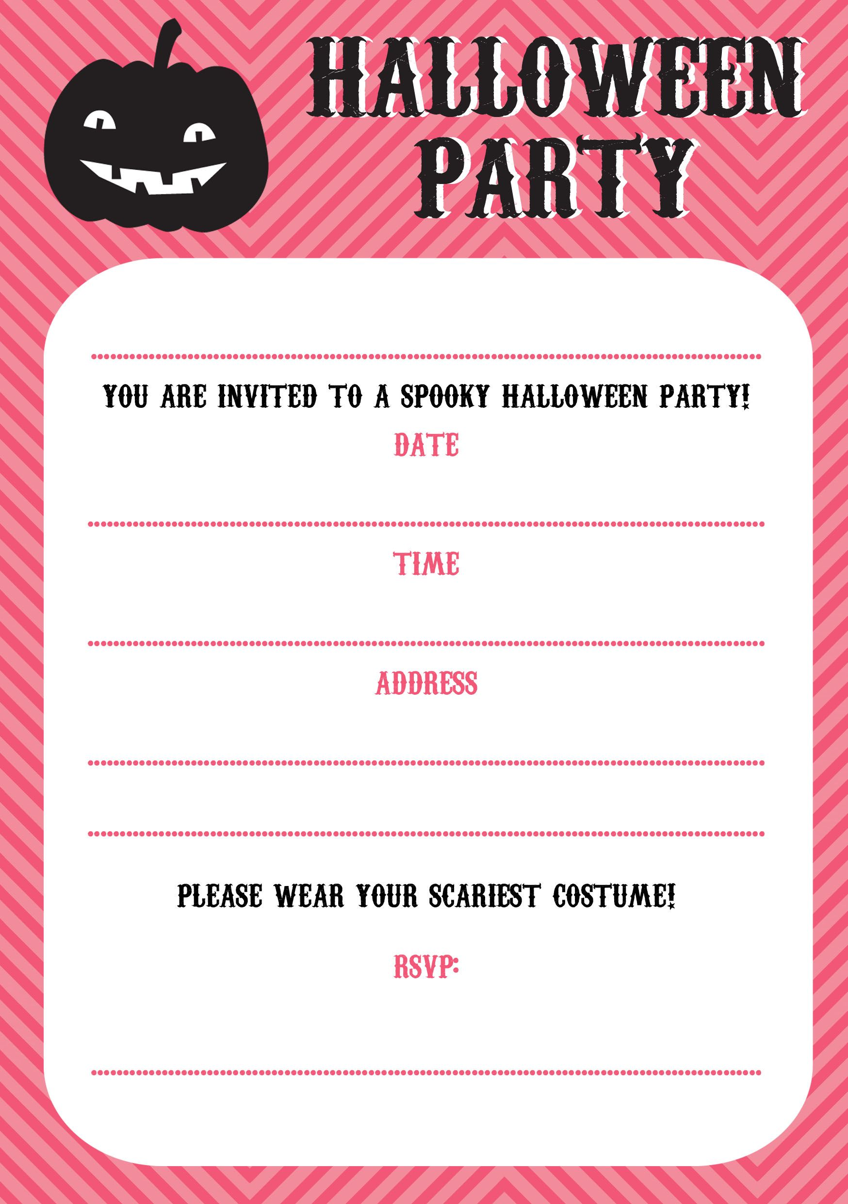 free printable halloween invitations kids and parenting