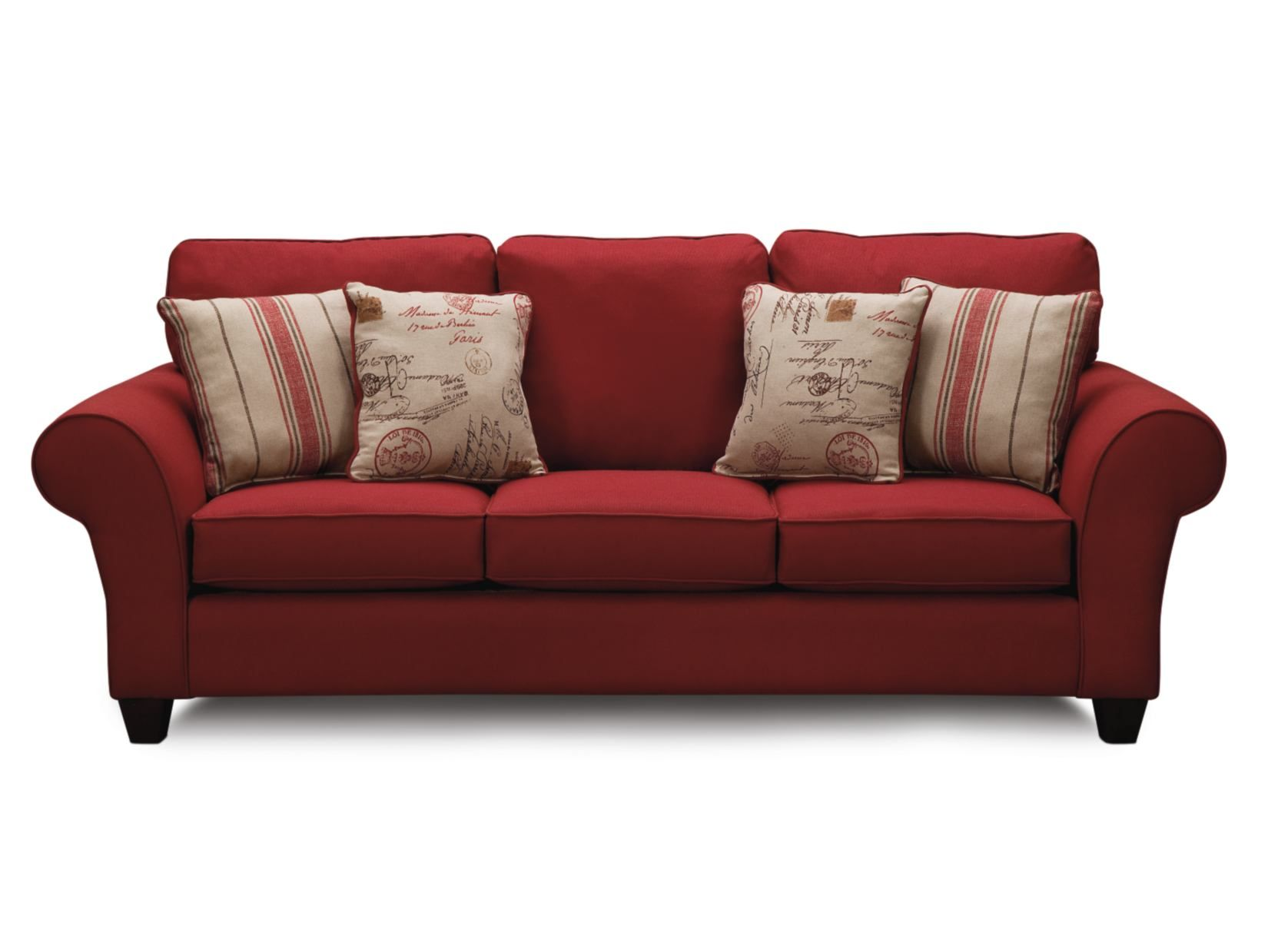 Palmer Red Sofa Value City Furniture Vegas house