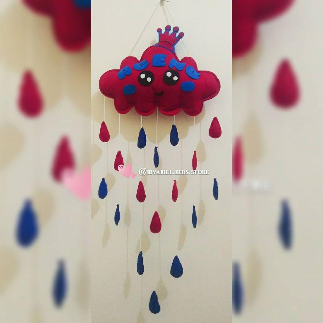 #hangingdoor #hangingclouds #hangingmoon #hangingrainbow #pernakpernik #shabbychic #shabbychicdecor #rumahshabbychic...