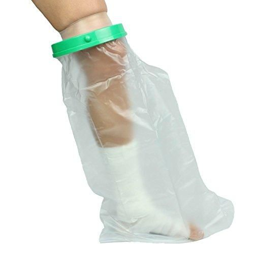 Waterproof Cast Cover By Vive Leg Protector For Shower Broken Foot Ankle Knee Toe Plastic Dry Bag Water Seal