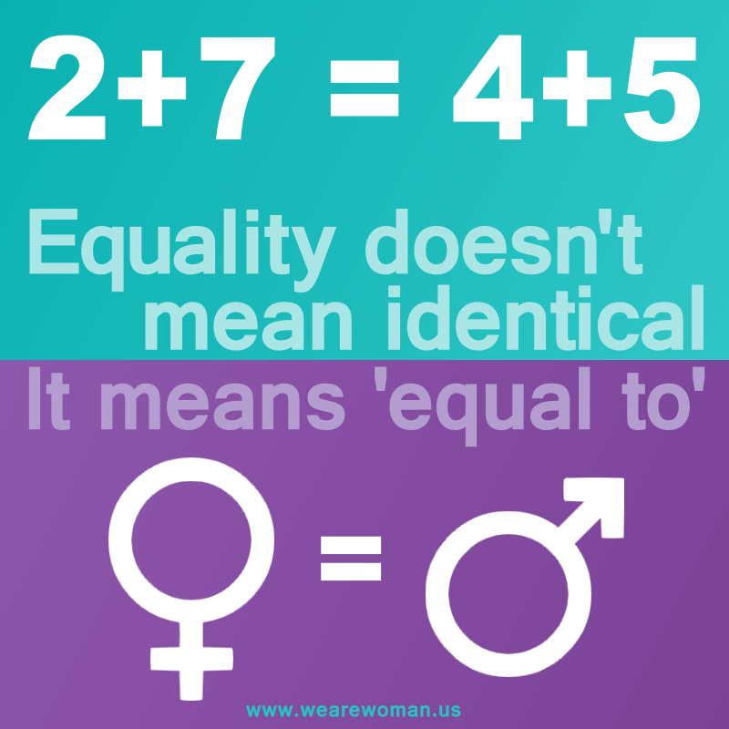 Equality Doesn T Mean Identical It Means Equal To We Might