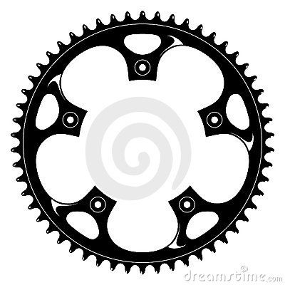 Big Bike Part Vector Colletion Seamless Pattern Royalty Free Stock