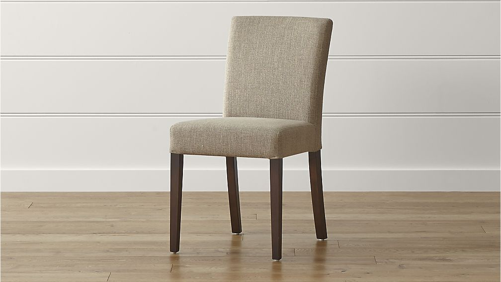 Lowe Khaki Upholstered Dining Chair Upholstered dining chairs