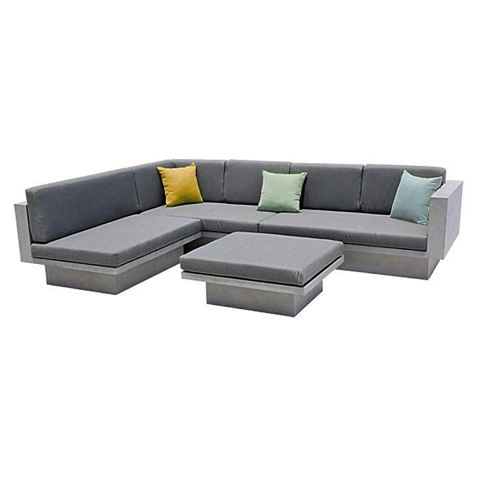Sunfun Loft Loungemöbel-Set Stella (4-tlg., Grau) | Lounge / Dining ...