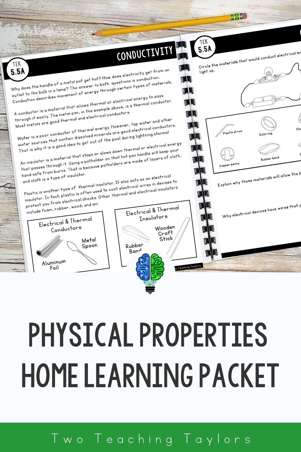 Physical Properties Of Matter Home Learning Packet Activity In 2020 Physical Properties Of Matter Properties Of Matter Physical Properties
