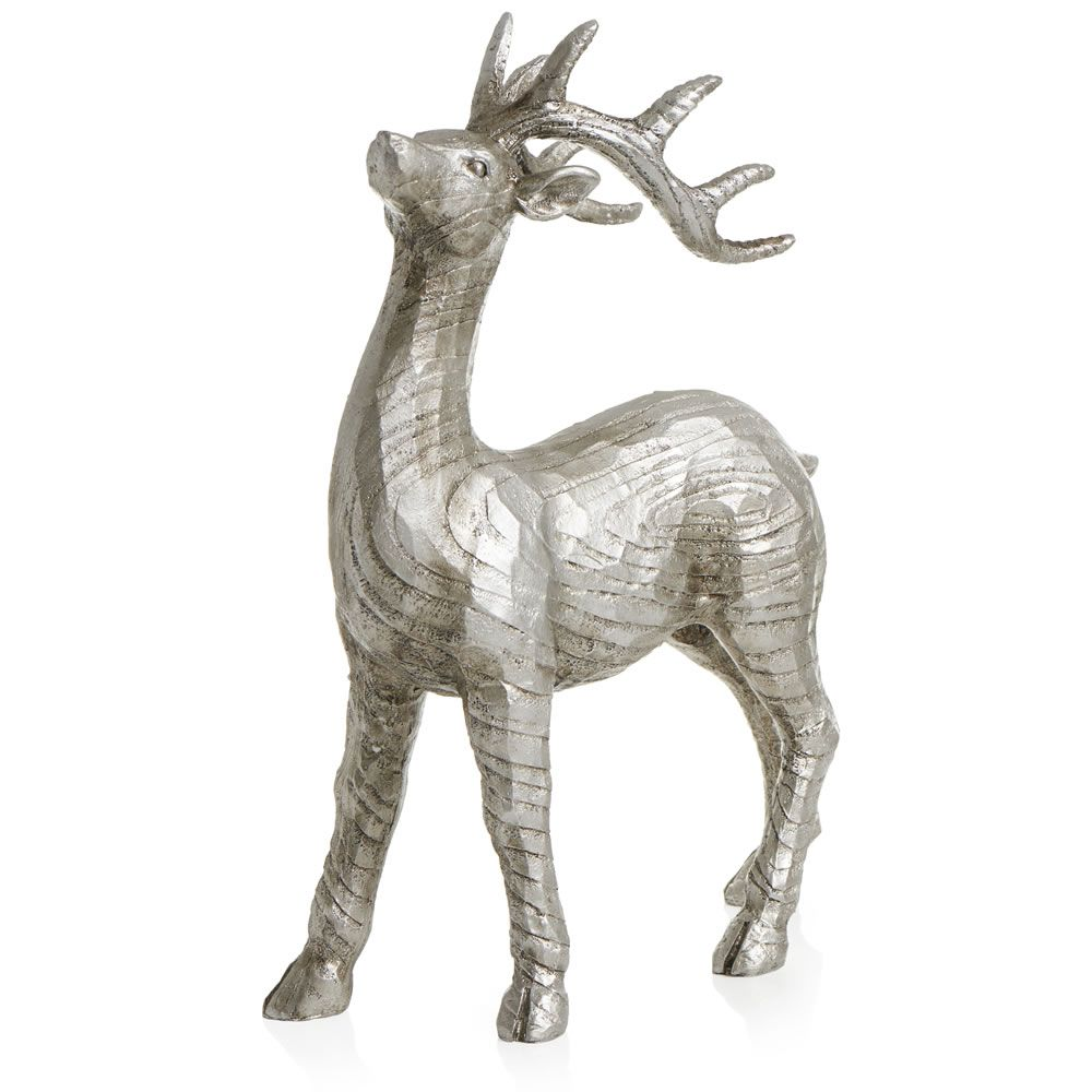 Wilko Silver Standing Stag Hallway Lighting Shortlist Pinterest Ornaments Silver And