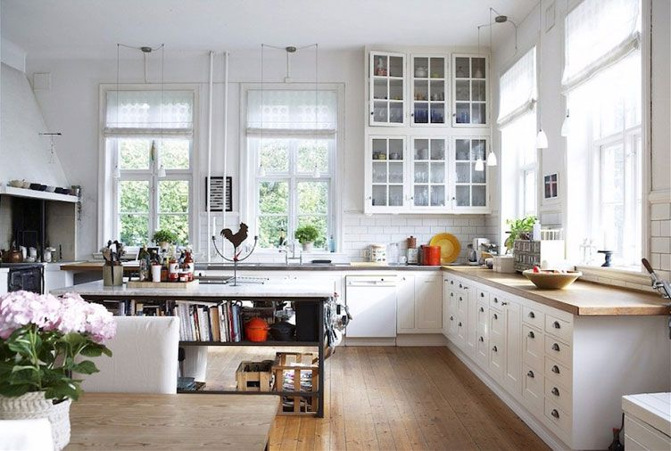 15 Ways To Give Your Kitchen A Deep Clean Scandinavian Kitchen Design Country Kitchen Designs Kitchen Style