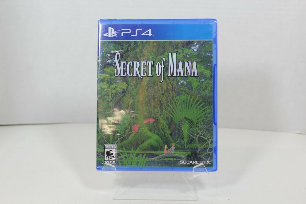 Secret of Mana - PS4 -  2018 - NEW - FACTORY SEALED #SquareEnix