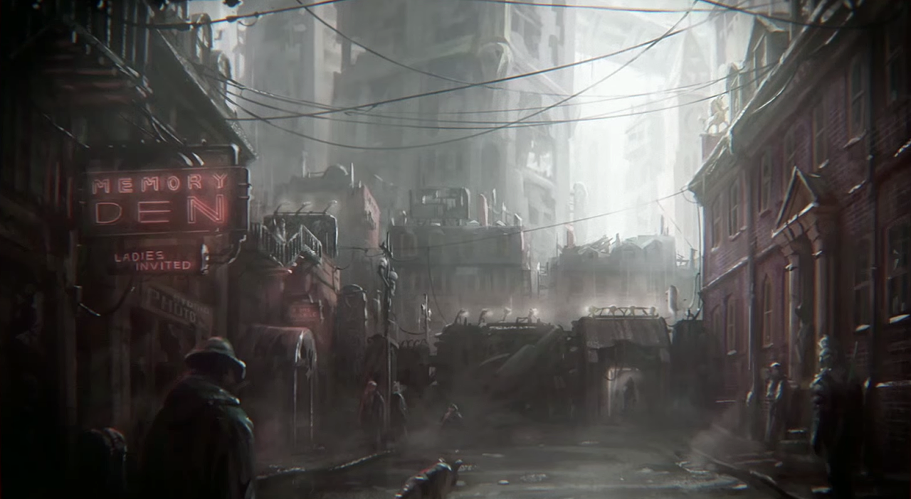 Fallout 4 Character Design Tips : Fallout concept art goodneighbor the of video
