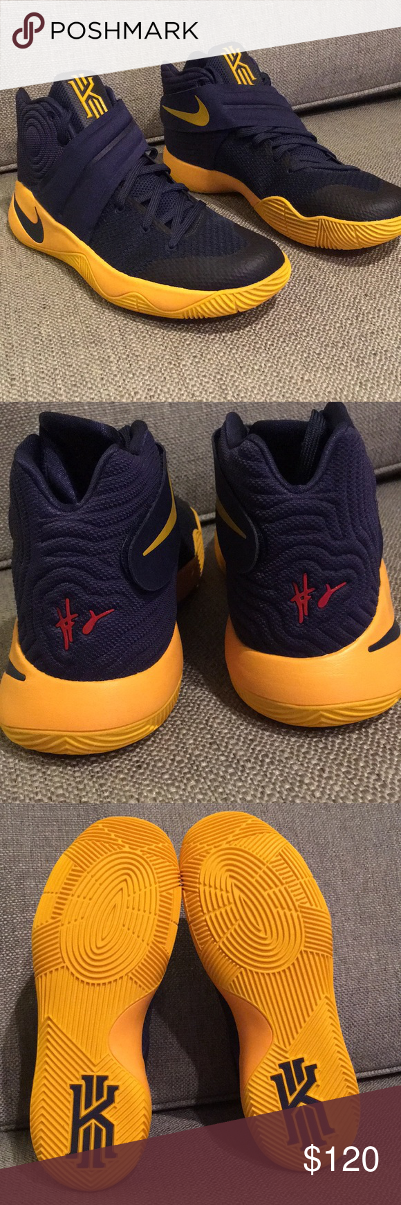 info for a1616 2b06c NWOT Nike Kyrie 2 (Cavs Edition) Brand new. Kyrie Irving 2 ...