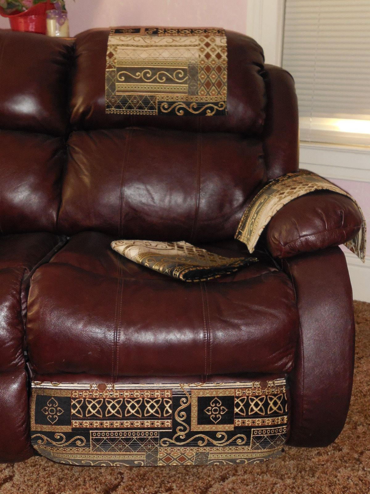 4pc Set to help protect your furniture. More pictures at