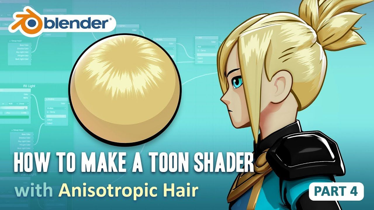 Toon Shader Tutorial Part 4 How to Make Anisotropic